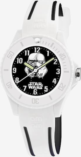 AM:PM Quarzuhr 'Star Wars kids educational watch' in weiß, Produktansicht
