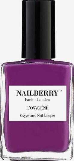 Nailberry Nail Polish 'L'Oxygéné Oxygenated' in Dark purple, Item view