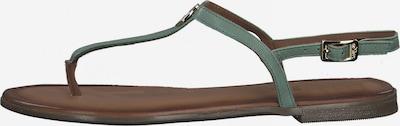 Flip-flops s.Oliver pe verde, Vizualizare produs