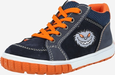 LURCHI Halbschuh  'Beo' in navy / grau / orange, Produktansicht