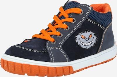 Pantofi 'Beo' LURCHI pe navy / gri / portocaliu, Vizualizare produs