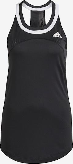 ADIDAS PERFORMANCE Sporttop 'Club Tennis' in de kleur Zwart / Wit, Productweergave