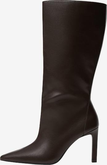 MANGO Škornji | čokolada barva, Prikaz izdelka