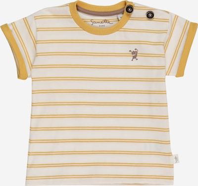 Sanetta Pure T-Shirt en jaune / blanc, Vue avec produit