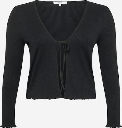 ABOUT YOU Curvy Тениска 'Talea' в черно: Изглед отпред