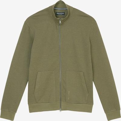 Marc O'Polo Sweatjacke in grün, Produktansicht