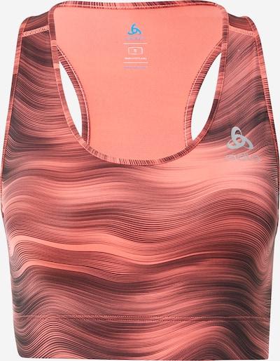ODLO Sport-BH 'Essential' in orange, Produktansicht