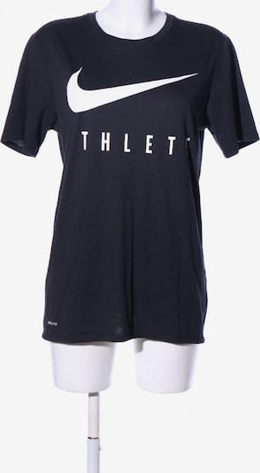 NIKE T-Shirt in M in blau / weiß: Frontalansicht