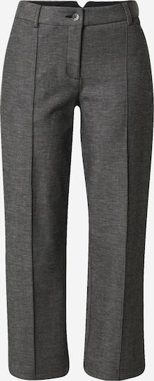 Someday Pantalon à plis 'Conner' en gris foncé, Vue avec produit
