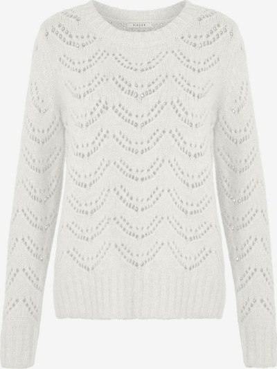 PIECES Pullover 'BIBI' in weiß, Produktansicht
