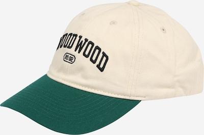 WOOD WOOD Cap 'Brian' in grün / pastellpink / schwarz, Produktansicht