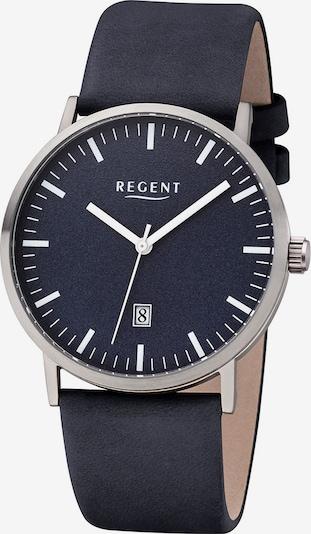 REGENT Uhr in blau, Produktansicht