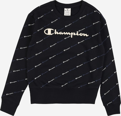 Champion Authentic Athletic Apparel Sweatshirt in navy / rauchblau / weiß, Produktansicht