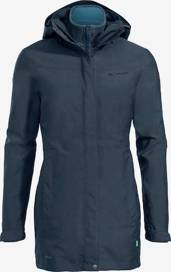 VAUDE Outdoorjas 'Idris' in de kleur Navy, Productweergave