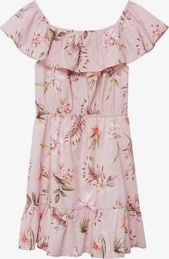 MANGO KIDS Kleid in mischfarben / hellpink, Produktansicht