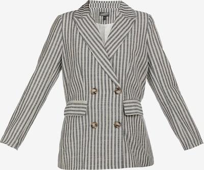 DreiMaster Vintage Blazer in grau / weiß, Produktansicht