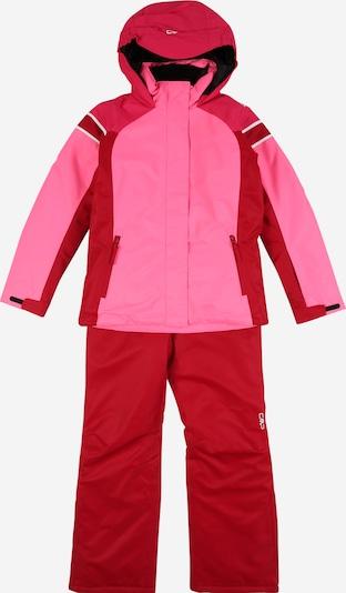 CMP Sportanzug in pink / rot / weiß, Produktansicht