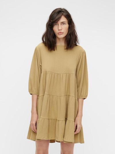 OBJECT Kleid 'Sif' in goldgelb, Modelansicht