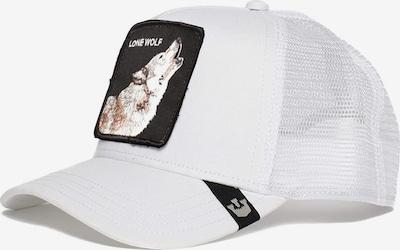 GOORIN Bros. Casquette 'Wolf' en marron / noir / blanc, Vue avec produit