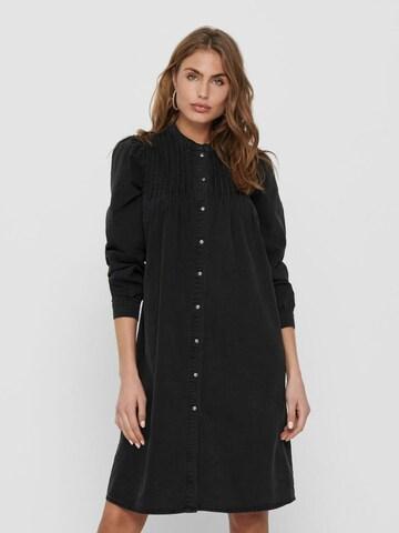 ONLY Kleid in Schwarz