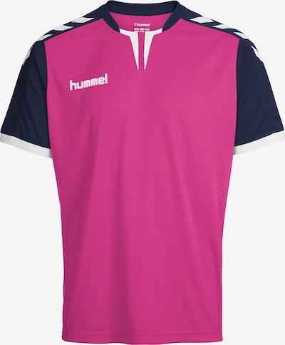 Hummel Funktionsshirt in navy / pink / weiß, Produktansicht