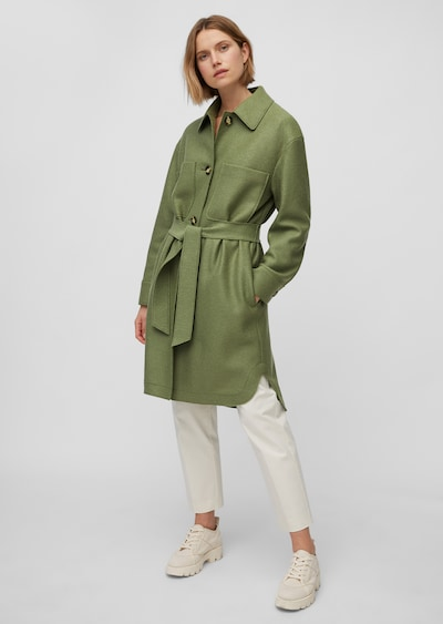 Marc O'Polo Bluse in grün, Modelansicht