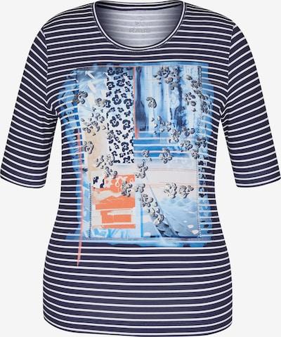 Rabe Shirt in navy / hellblau / silber / weiß, Produktansicht