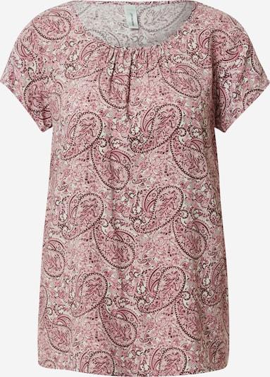 Soyaconcept Bluzka 'ODELIA' w kolorze różowy / czarny / białym, Podgląd produktu