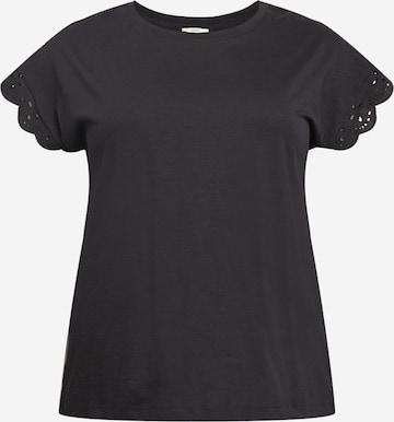 Esprit Curves T-Shirt in Schwarz