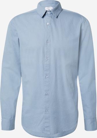 DAN FOX APPAREL Hemd 'Paul' in Blau