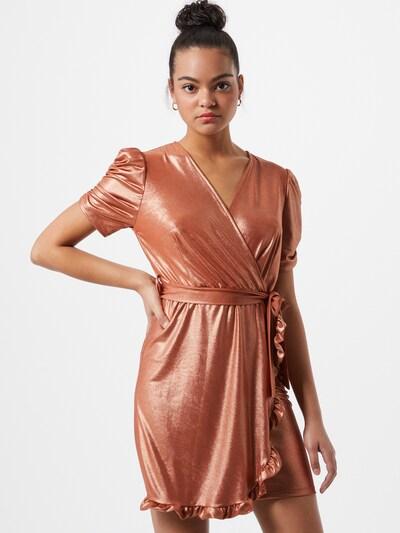 WAL G. Kleid in kupfer, Modelansicht