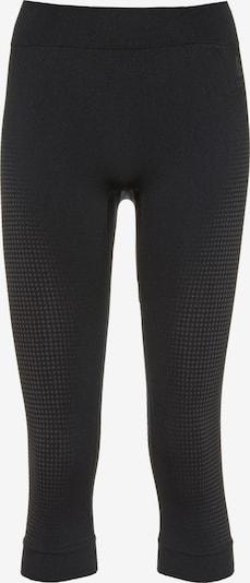 ODLO Sportondergoed in de kleur Grijs / Zwart gemêleerd, Productweergave