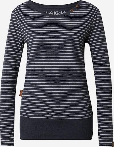 Alife and Kickin Shirt in navy / weiß, Produktansicht
