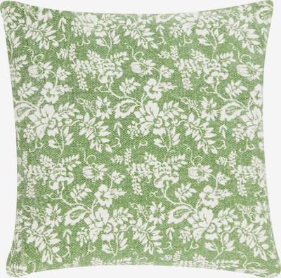 Linen & More Kissenhülle 'Flower Garden' in Green / White, Item view