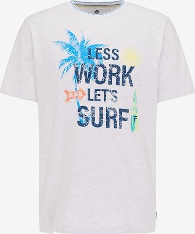 PIONEER Shirt in de kleur Gemengde kleuren / Wit, Productweergave