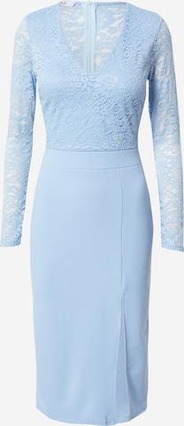 WAL G. Kokteilové šaty 'MENA' - Modrá