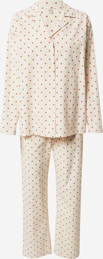 BeckSöndergaard Pižama | nude / oranžna barva, Prikaz izdelka