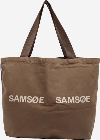 Samsoe Samsoe Shopper 'Frinka' i beige / mørkebeige, Produktvisning