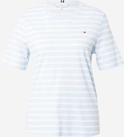 TOMMY HILFIGER T-Shirt in hellblau / weiß, Produktansicht