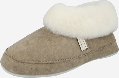 Papuci de casă 'Emmy' SHEPHERD OF SWEDEN pe piatră / alb lână, Vizualizare produs