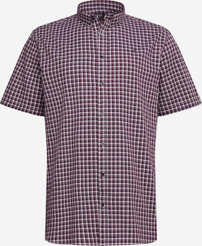 BURTON MENSWEAR LONDON Hemd in navy / burgunder / weiß, Produktansicht