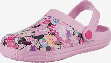 Disney Minnie Mouse Clogs in Pink