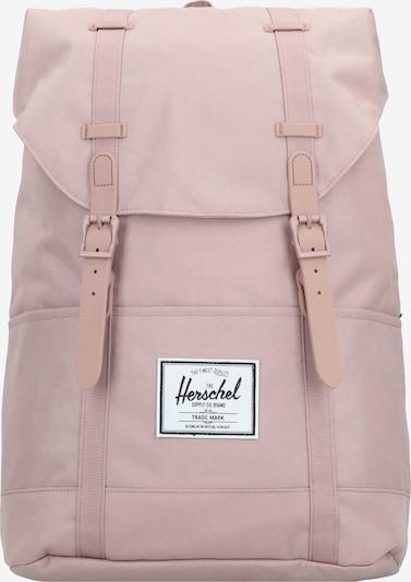 Herschel Sac à dos en rose / blanc, Vue avec produit