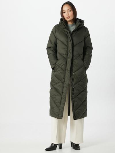 SAINT TROPEZ Zimski plašč 'Catja' | kaki barva, Prikaz modela
