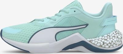 PUMA Chaussure de course en turquoise / blanc, Vue avec produit