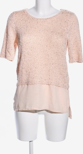 Orsay Kurzarmpullover in S in nude: Frontalansicht