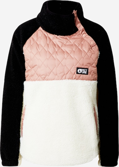Picture Organic Clothing Sports sweatshirt 'Face' in Pink / Black / White, Item view