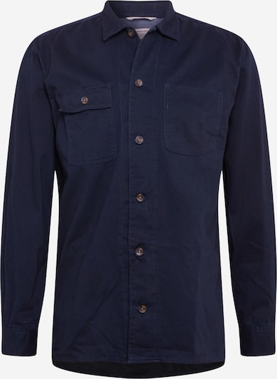 JACK & JONES Overhemd 'JJRussel' in de kleur Navy, Productweergave
