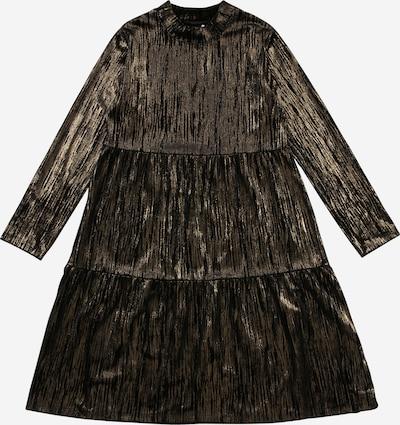 NAME IT Kleid 'RAMLAH' in gold / schwarz, Produktansicht