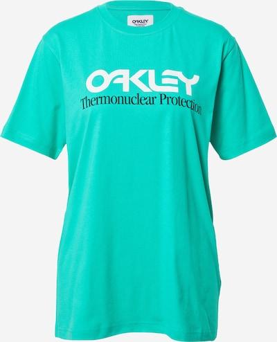 OAKLEY Toiminnallinen paita 'FIERY' värissä jade / musta / valkoinen, Tuotenäkymä